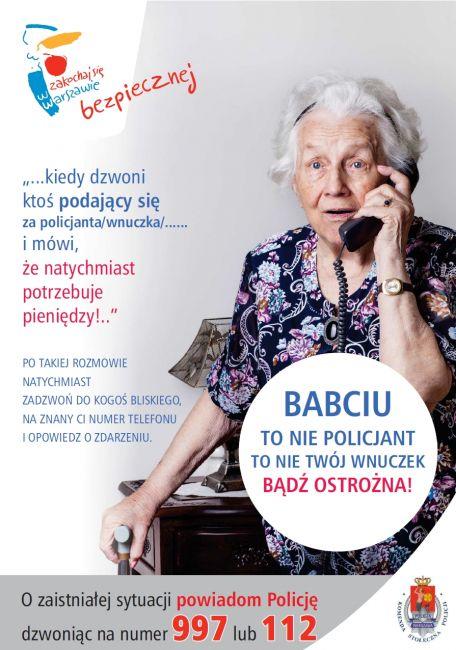 plakat prewencyjny