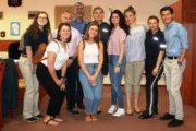 Legionowo: Studenci z USA odwiedzili policjantów